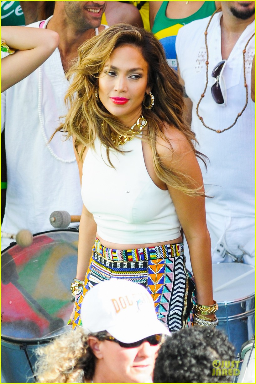 jennifer lopez shoots vibrant world cup music video 073051550