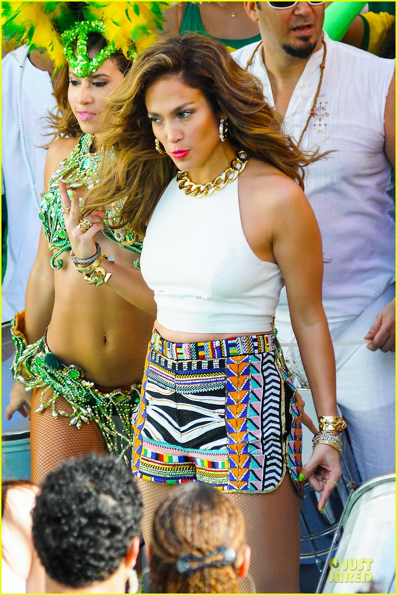 jennifer lopez shoots vibrant world cup music video 173051560