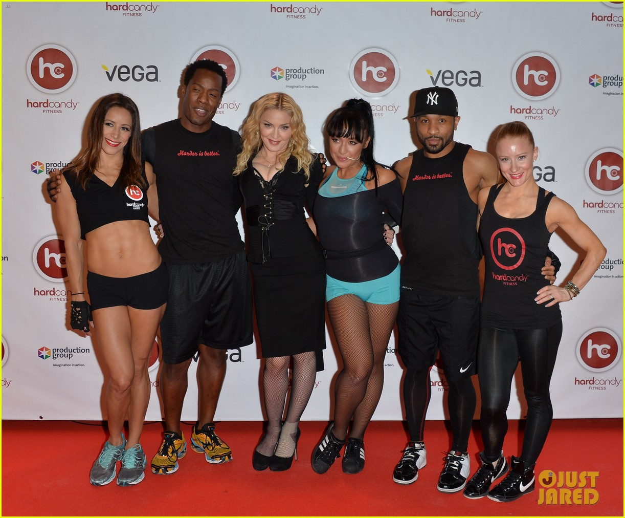 madonna hard candy fitness toronto grand opening 033051911