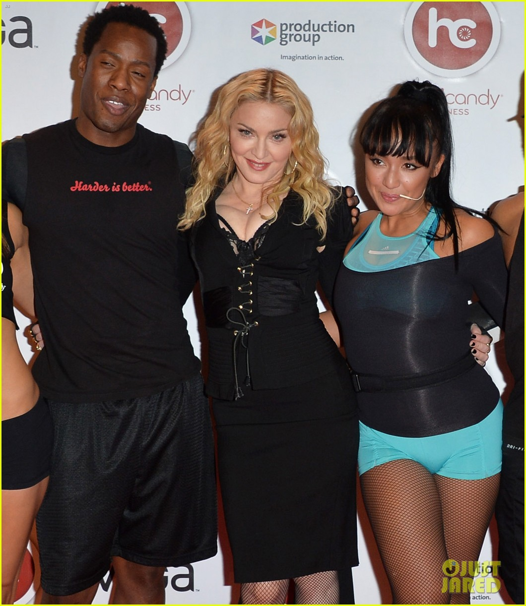 madonna hard candy fitness toronto grand opening 10