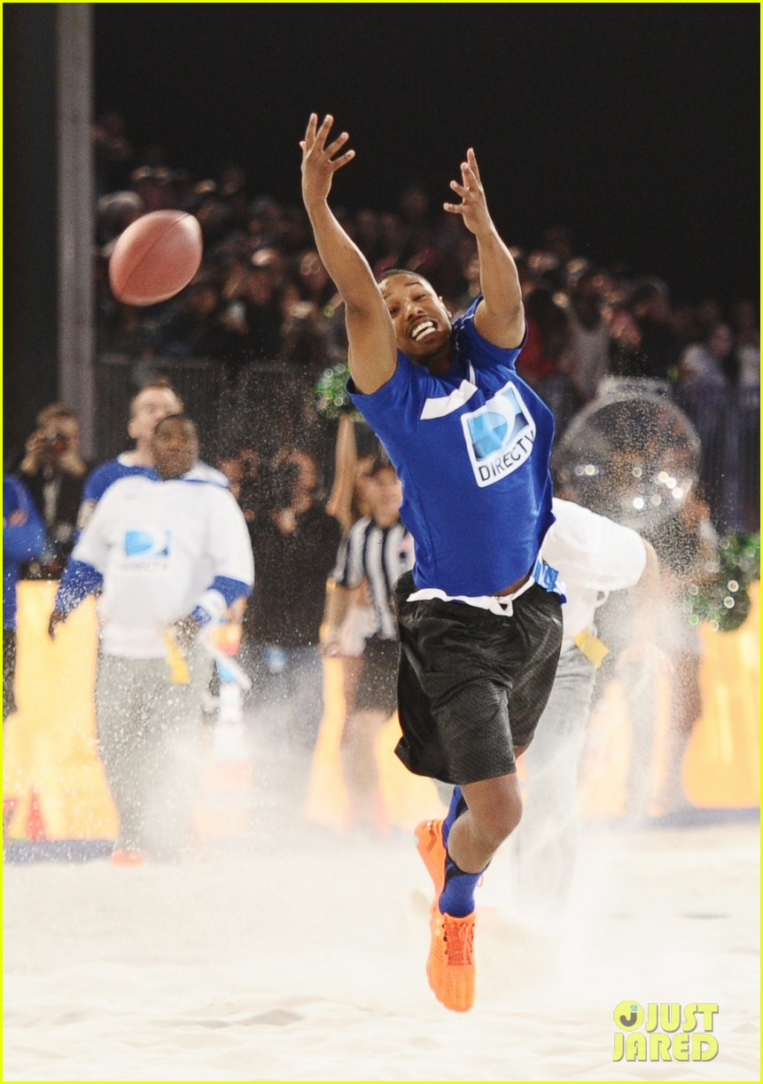 michael b jordan scott porter friday night lights reunion at directv beach bowl 2014 083045665