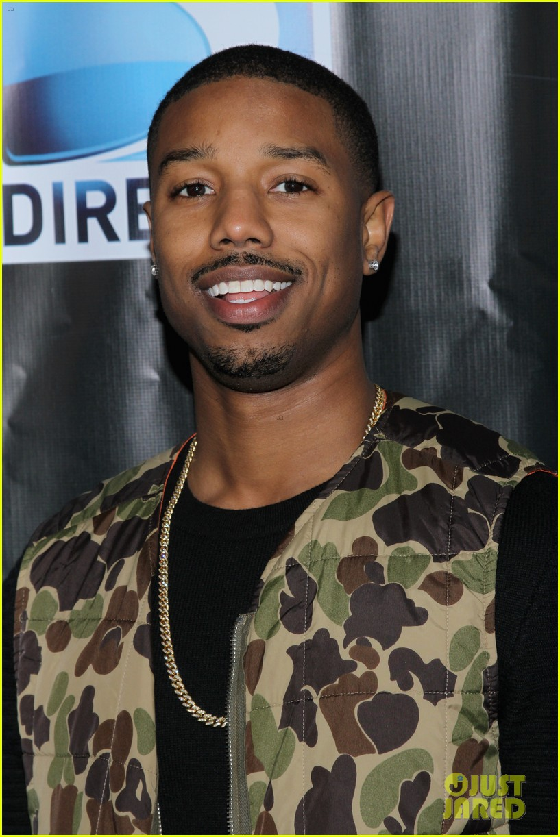 michael b jordan shay mitchell directvs super bowl party 04