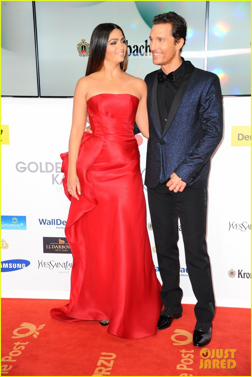 matthew mcconaughey camila alves picture perfect pair at goldene kamera awards 143045833