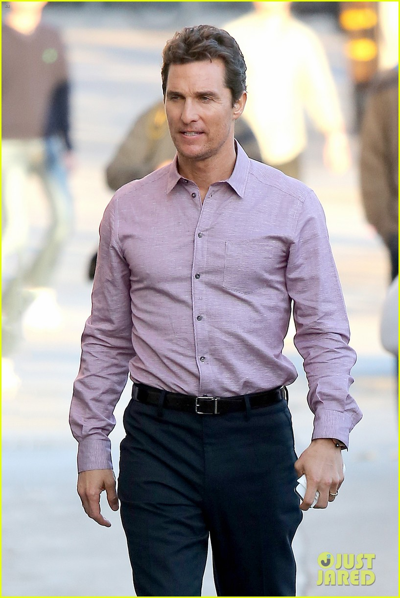 matthew mcconaughey talks true detective on jimmy kimmel live 21