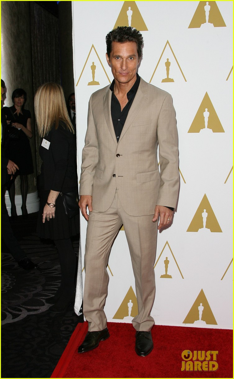 matthew mcconaughey jared leto oscars nominees luncheon 2014 14