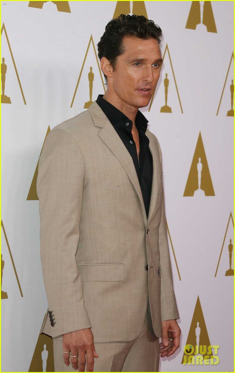 matthew mcconaughey jared leto oscars nominees luncheon 2014 15