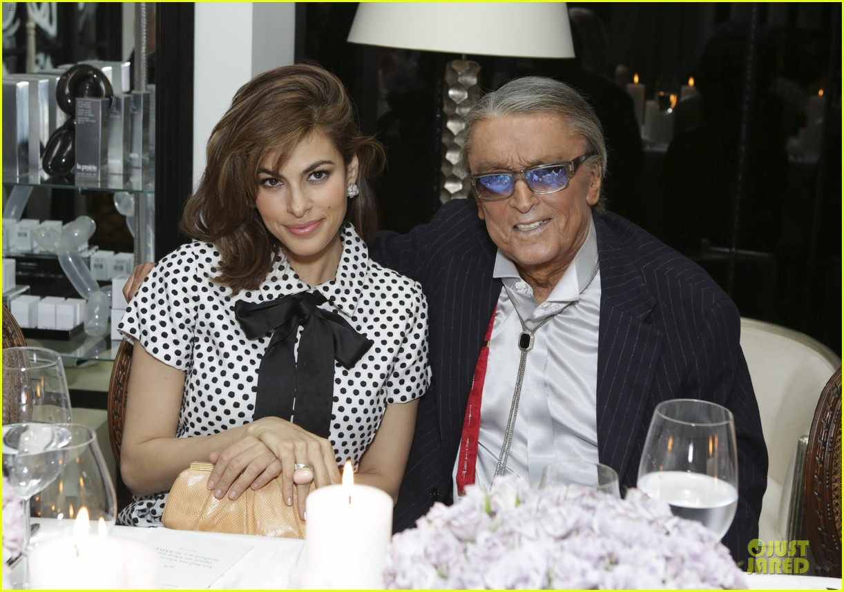 eva mendes pharrell williams elizabeth taylor tribute dinner 023062520