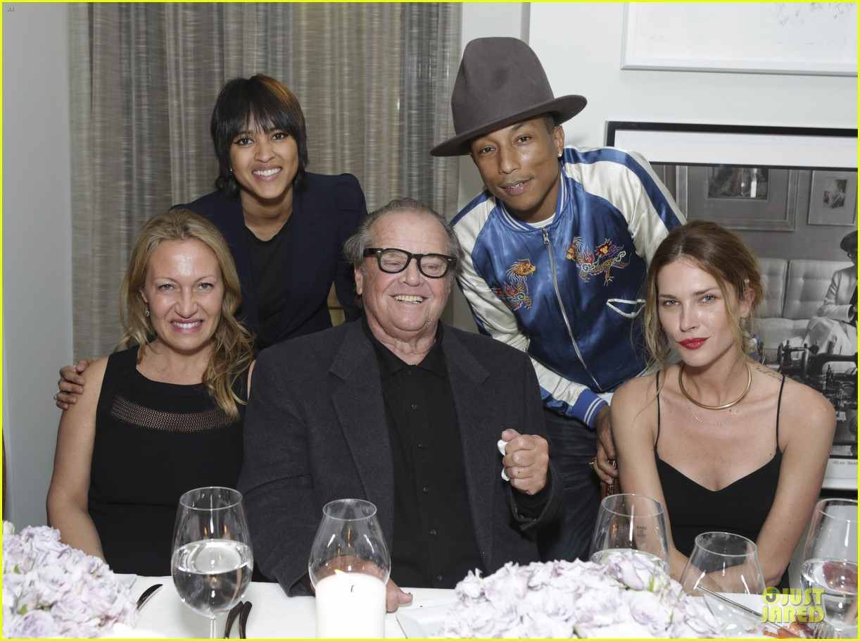 eva mendes pharrell williams elizabeth taylor tribute dinner 053062523