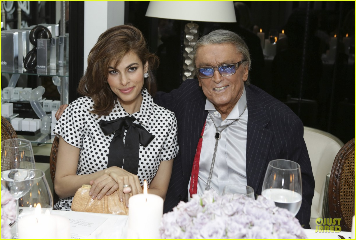 eva mendes pharrell williams elizabeth taylor tribute dinner 073062525