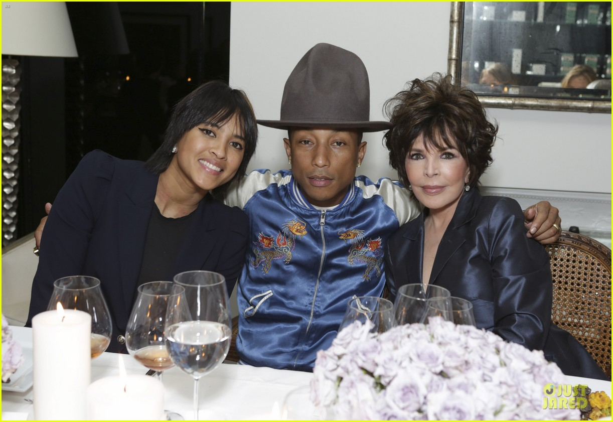 eva mendes pharrell williams elizabeth taylor tribute dinner 083062526