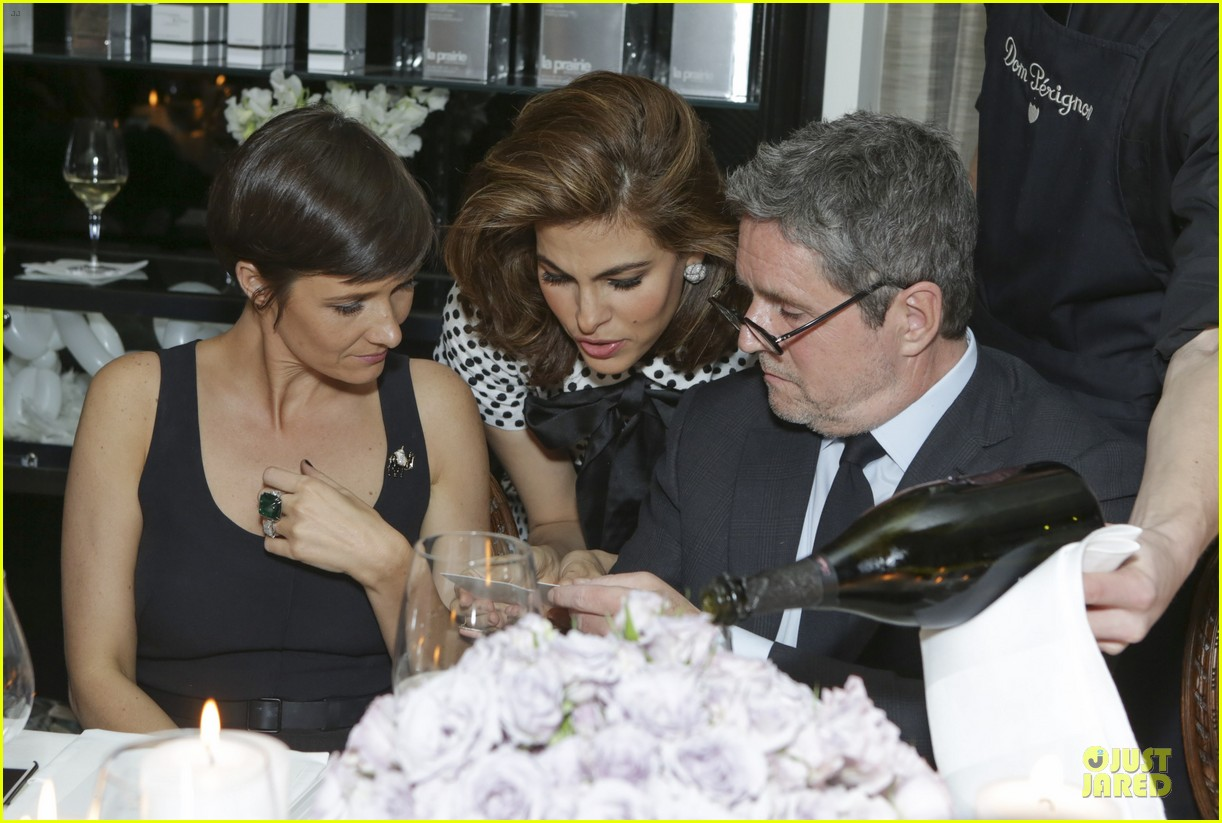 eva mendes pharrell williams elizabeth taylor tribute dinner 11