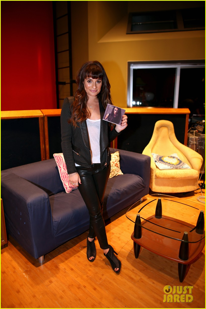 lea michele previews louder at album listening party 013061715