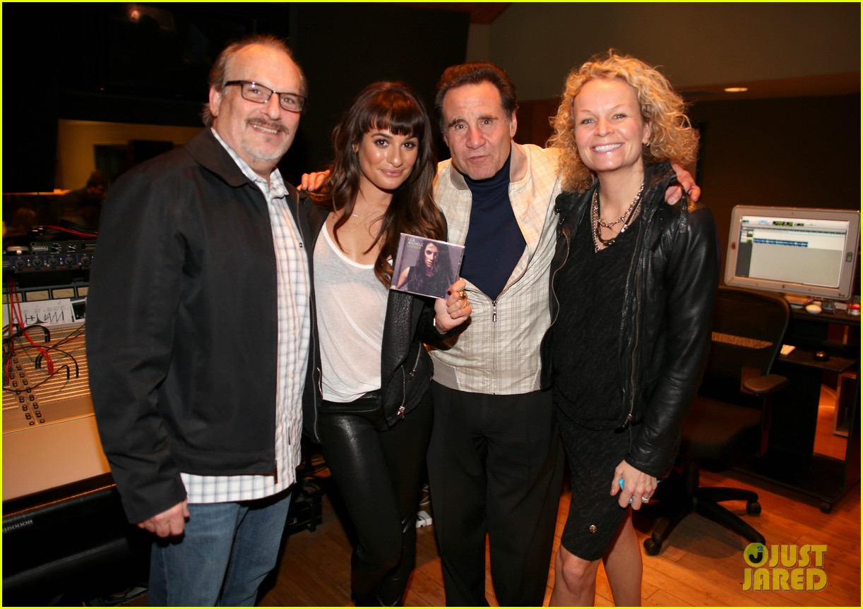lea michele previews louder at album listening party 053061719