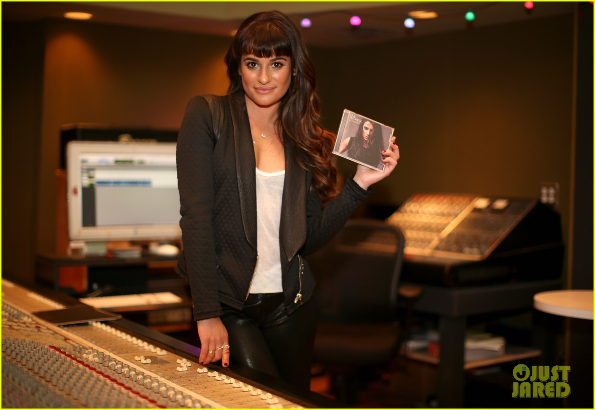 lea michele previews louder at album listening party 15