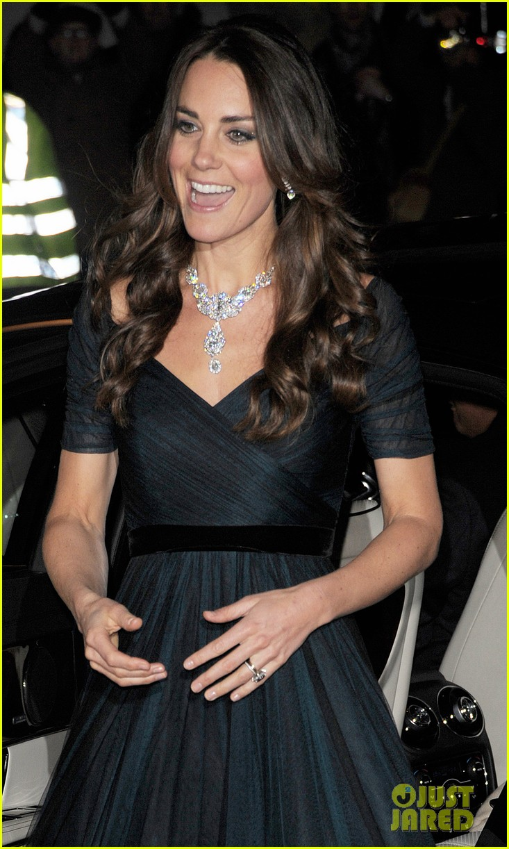 kate middleton makes first official appearance in 2014 at national portrait gala 083051438