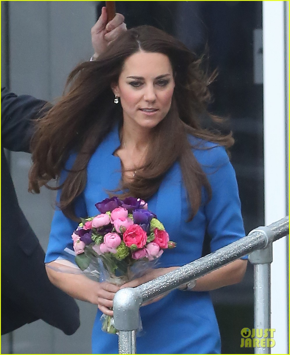 kate middleton opens the icap art room on valentines day 153053301