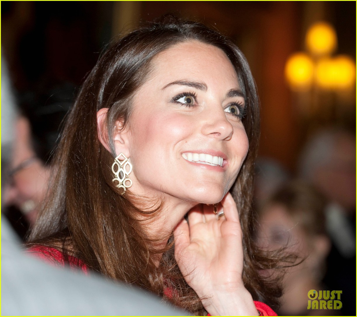 kate middleton recycles alexander mcqueen dress for arts reception 013055176