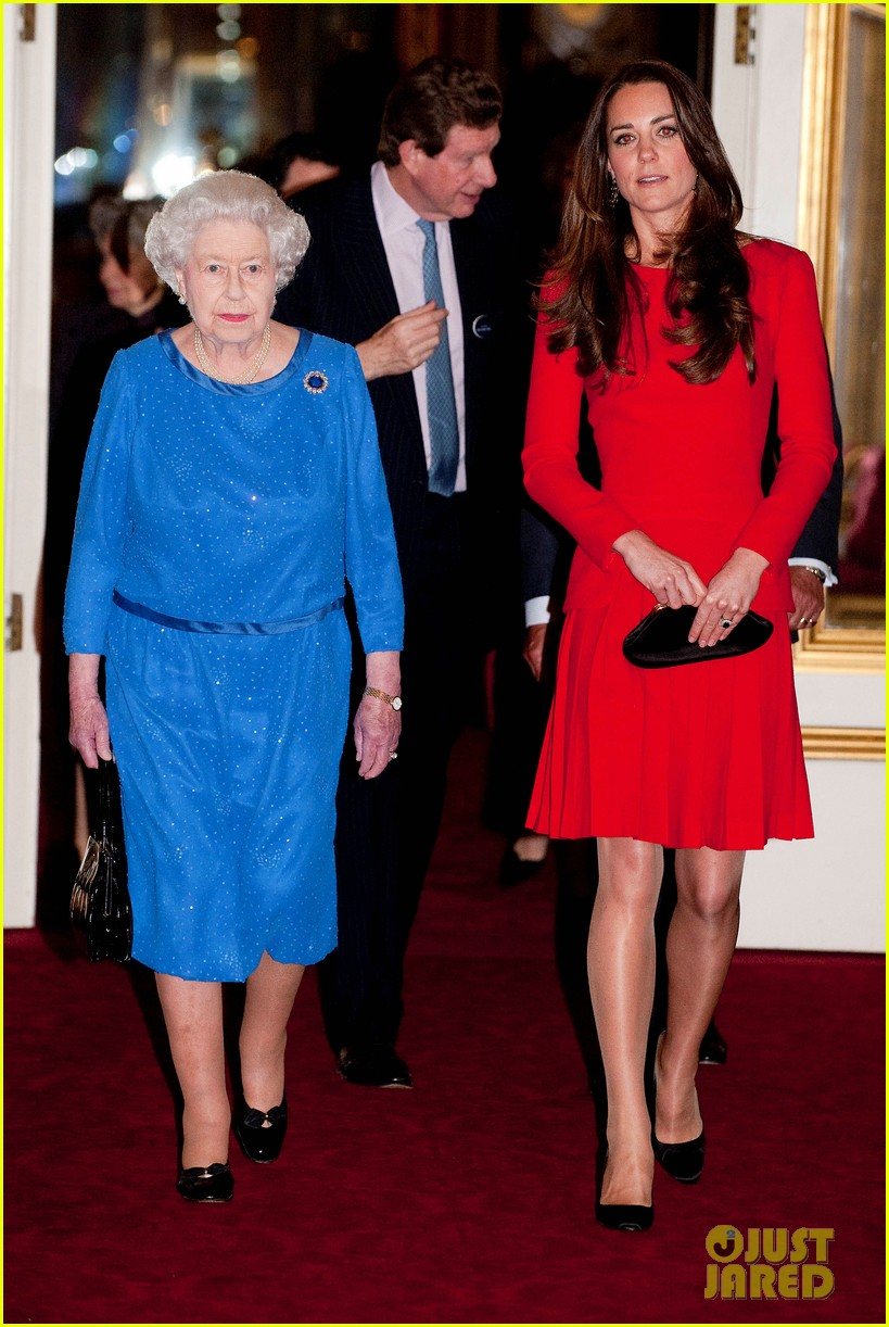 Kate Middleton Recycles Red Alexander McQueen Dress for Dramatic ...