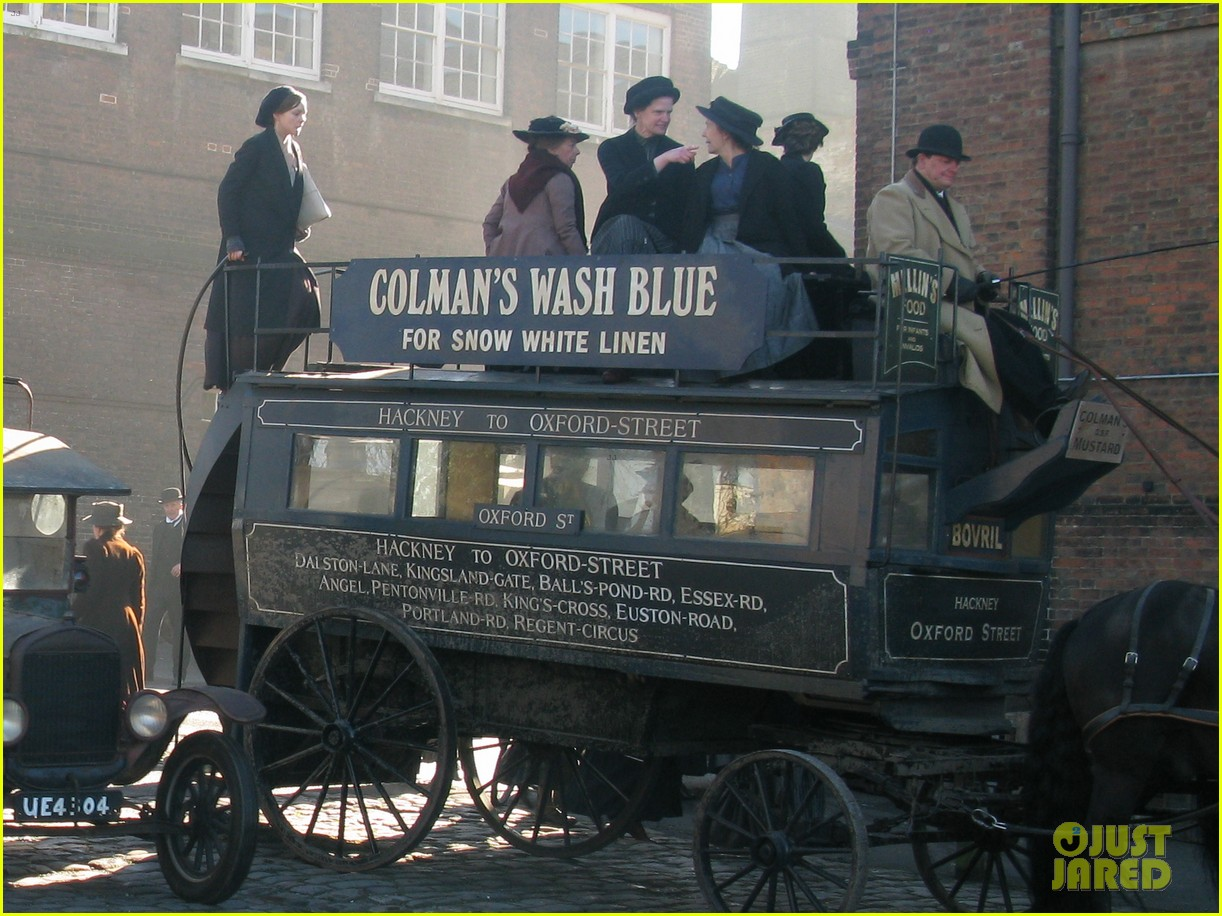 carey mulligan begins filming suffragette in london 05