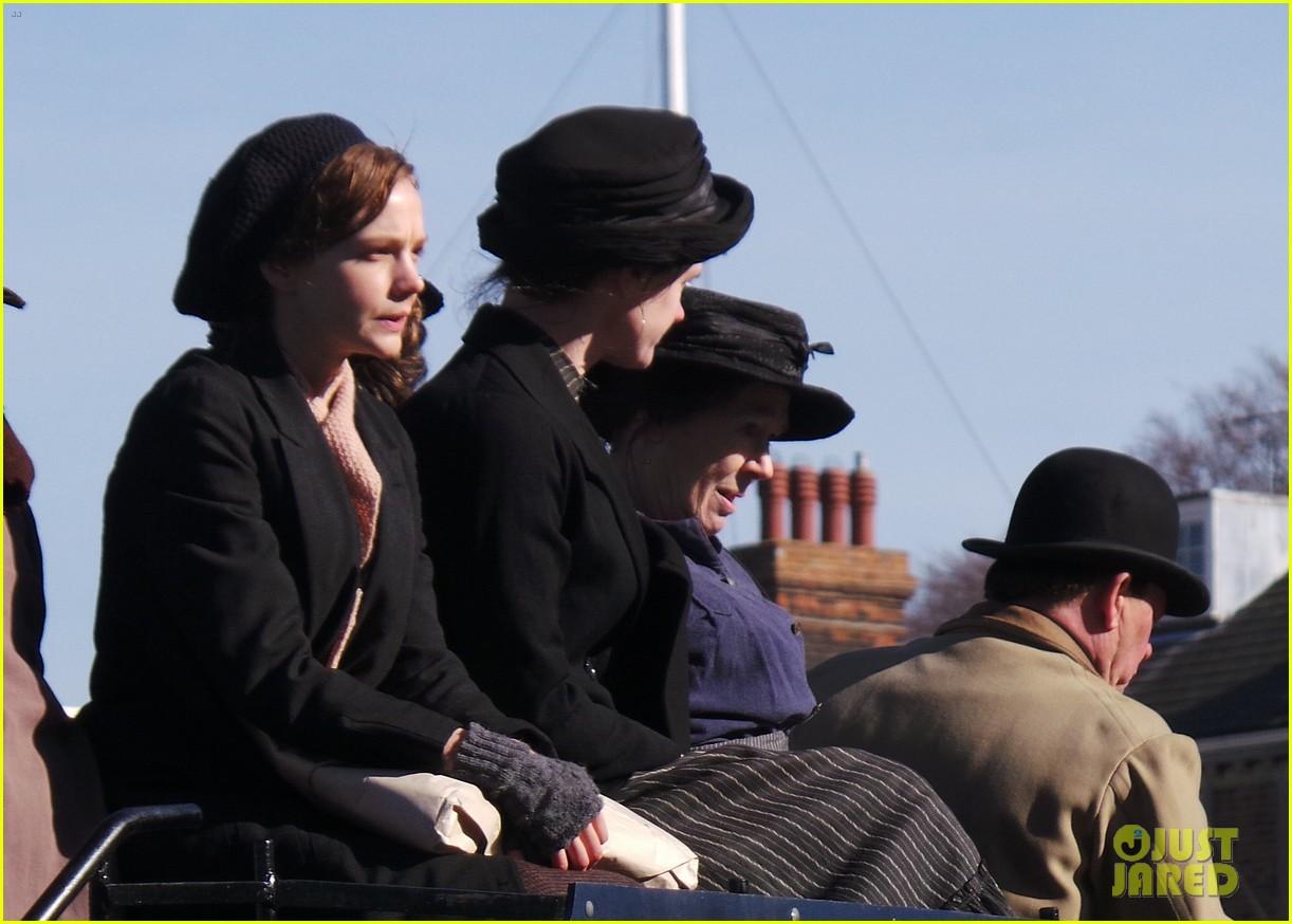 carey mulligan begins filming suffragette in london 133059522