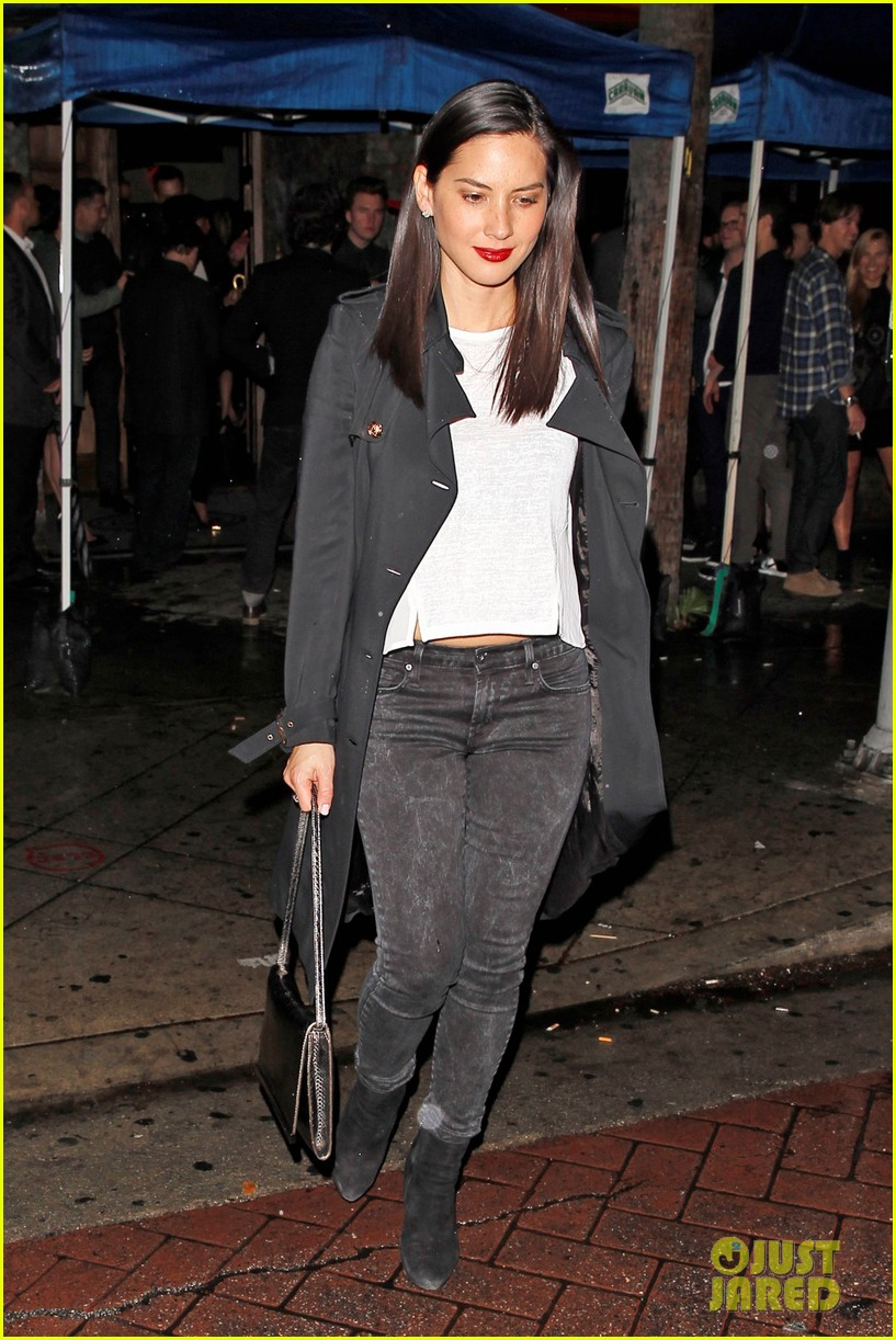 olivia munn hits a party while joel kinnaman films the killing 083061632