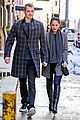 olivia munn joel kinnaman hold hands on wet valentines day 07