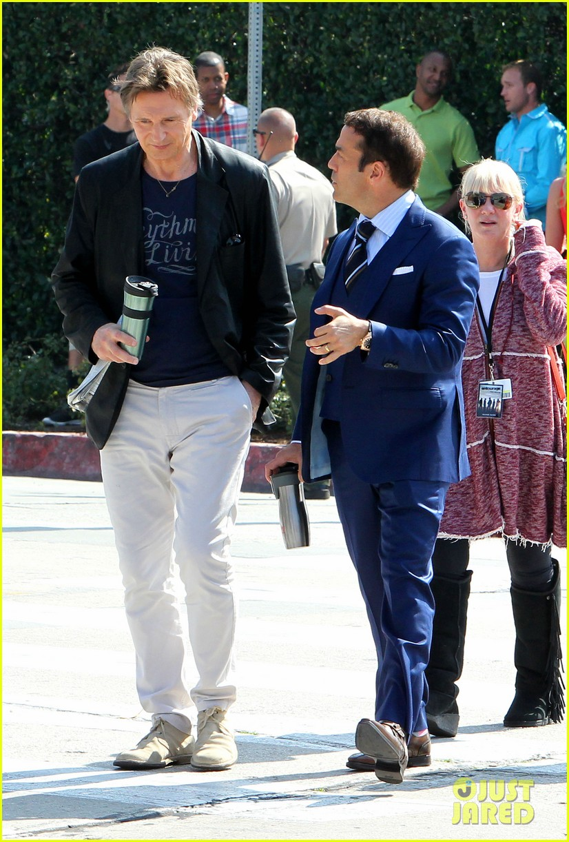 liam neeson films entourage movie scenes with jeremy piven 013061399