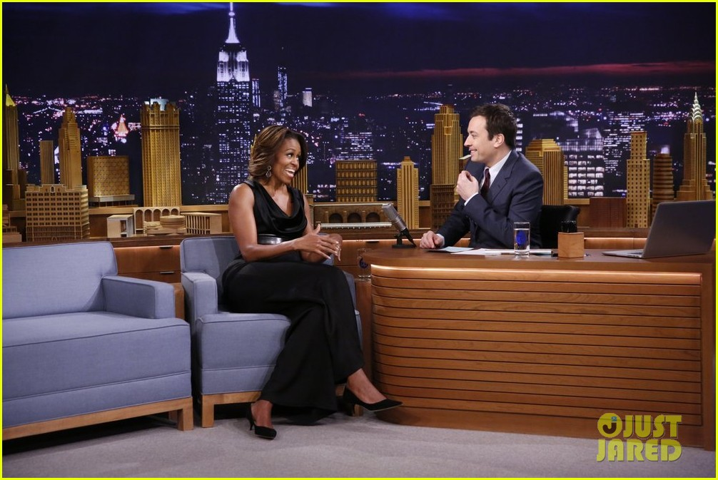 michelle obama ew sketch with jimmy fallon will ferrell 013057488