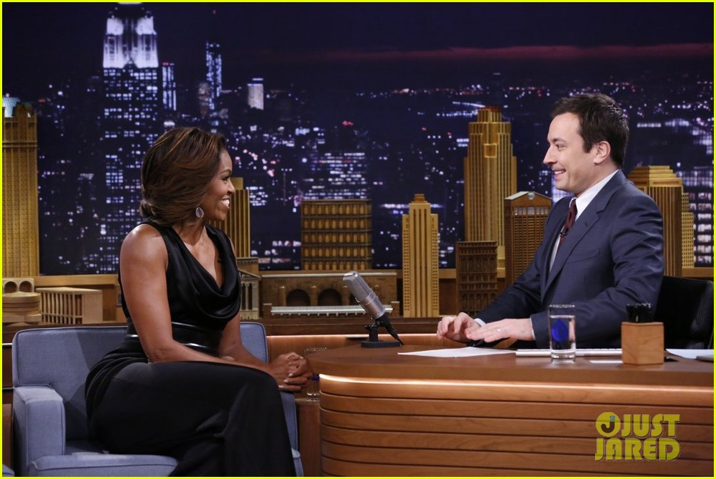 michelle obama ew sketch with jimmy fallon will ferrell 043057491