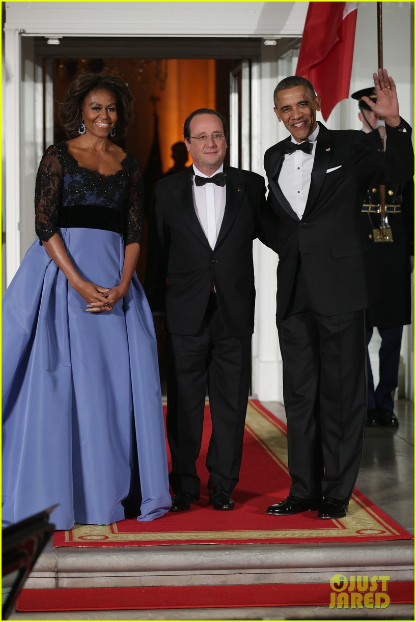 barack michelle obama white house state dinner 013051800