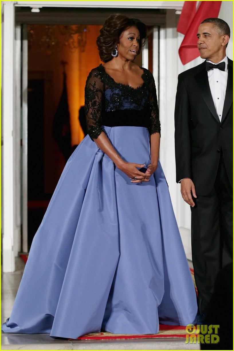 barack michelle obama white house state dinner 143051813