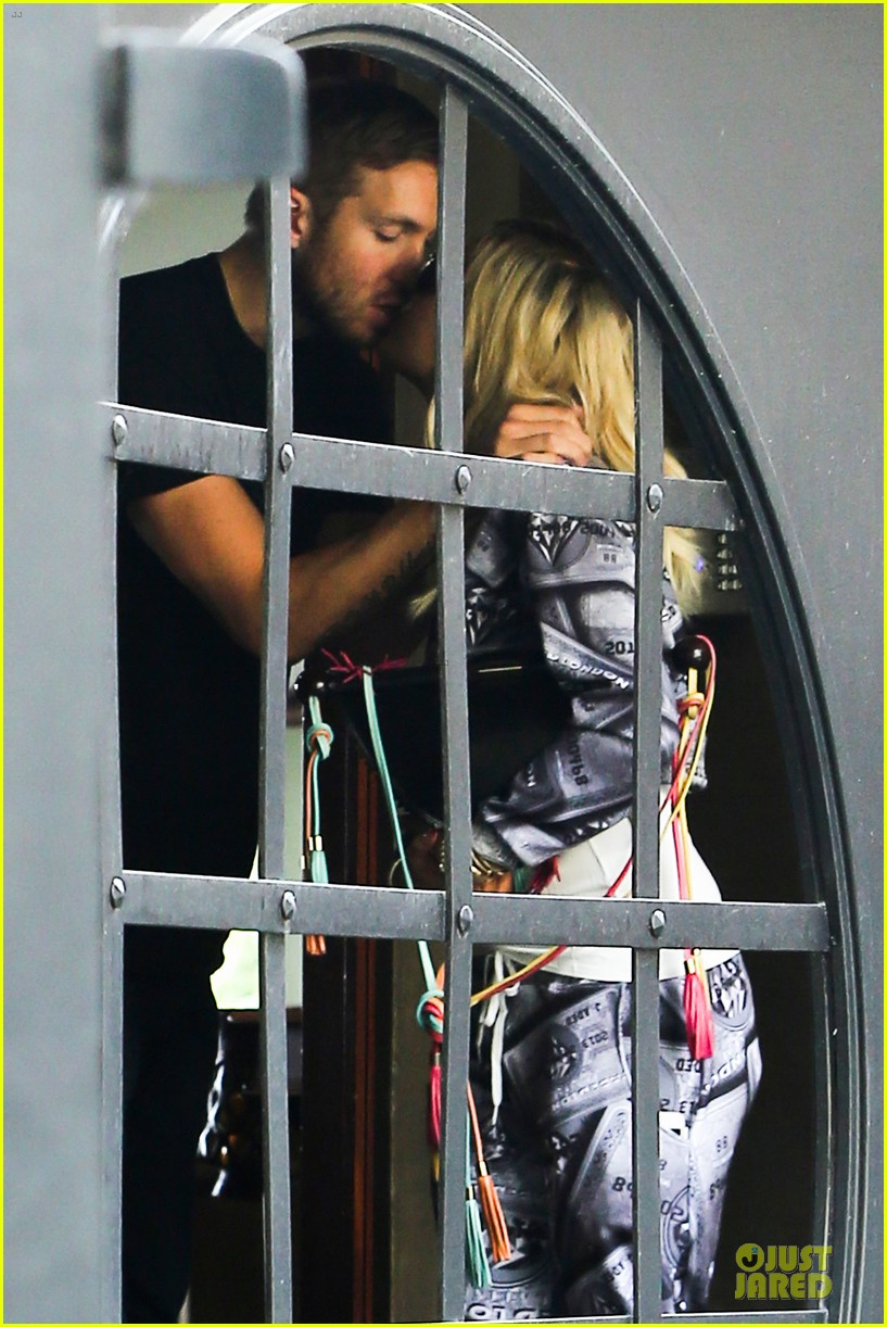 rita ora kisses calvin harris in credit card ensemble 043049407