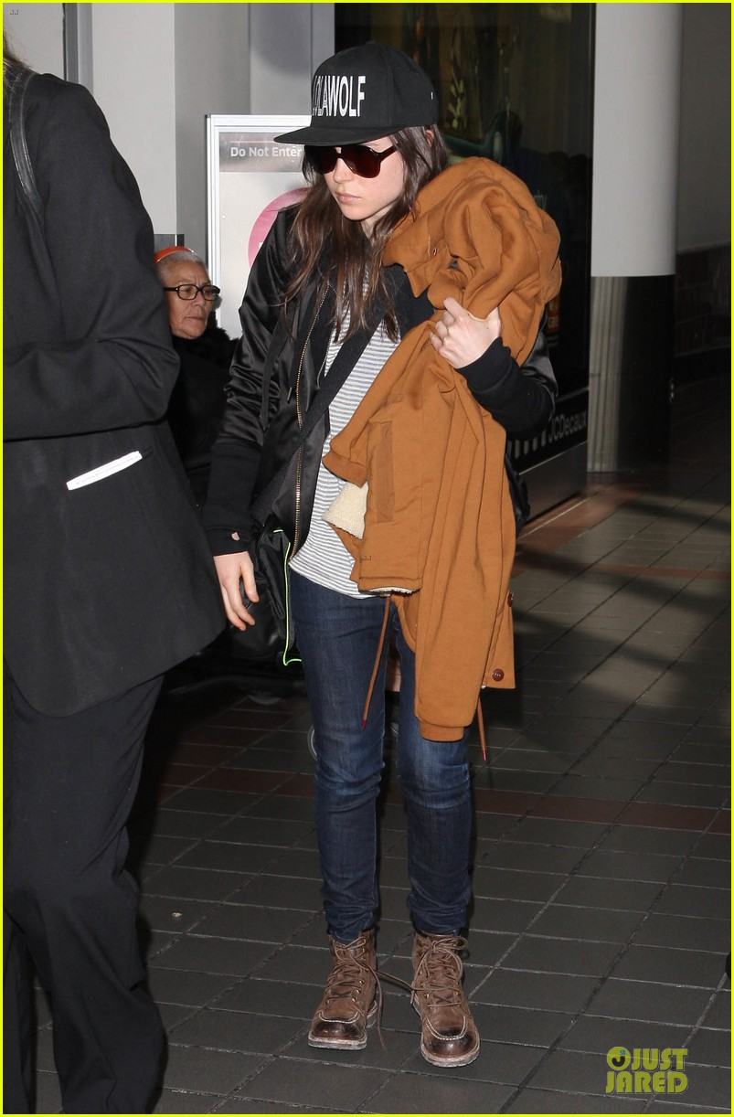 ellen page steps out after coming out as gay 063055866