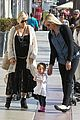 elsa patakys baby bump looks ready to pop during outing with india 07