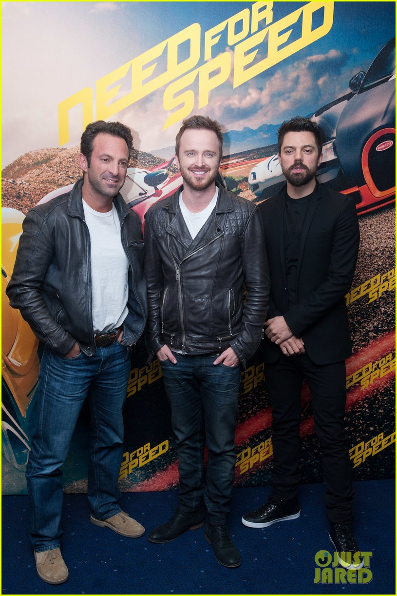aaron paul dominic cooper need for speed fan screening 083061035