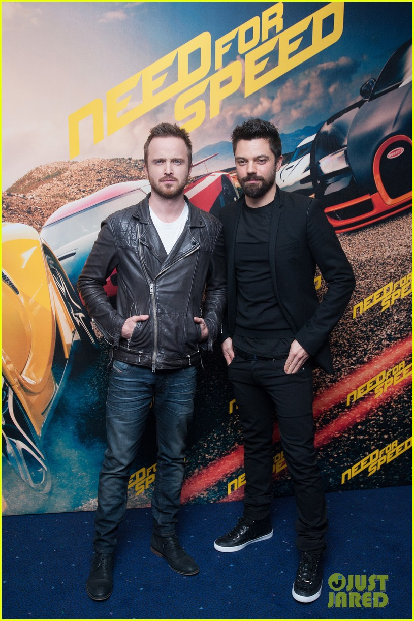 aaron paul dominic cooper need for speed fan screening 09