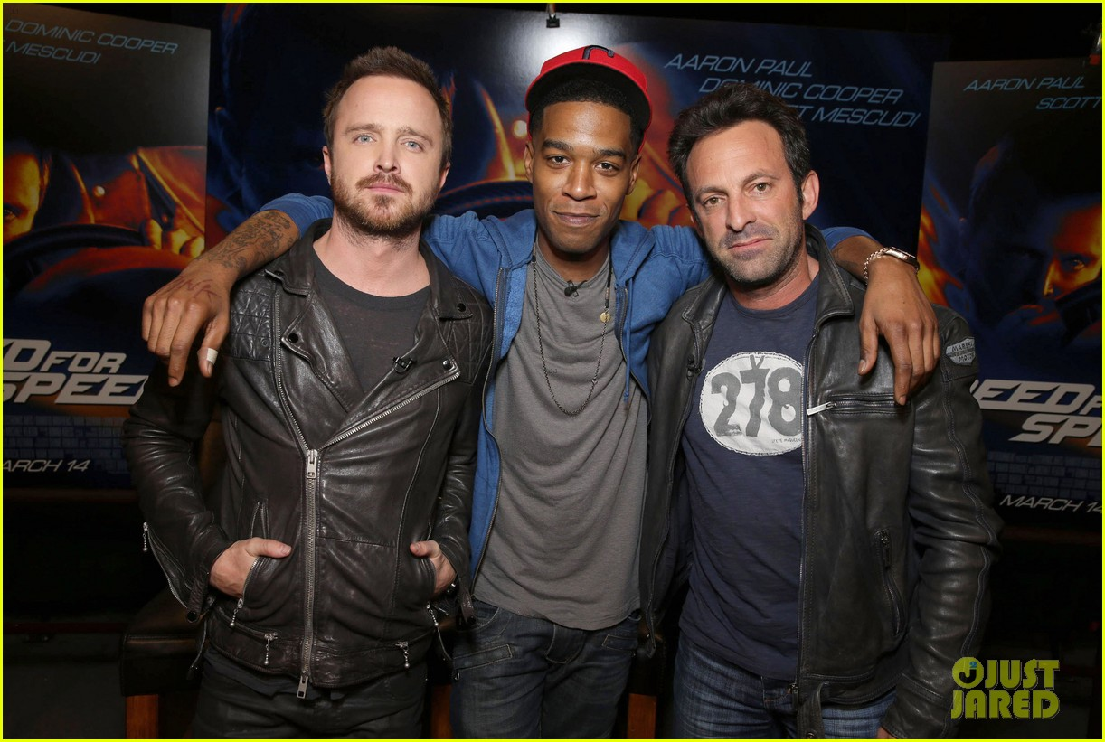 aaron paul kid cudi need for speed advance screening 013057085