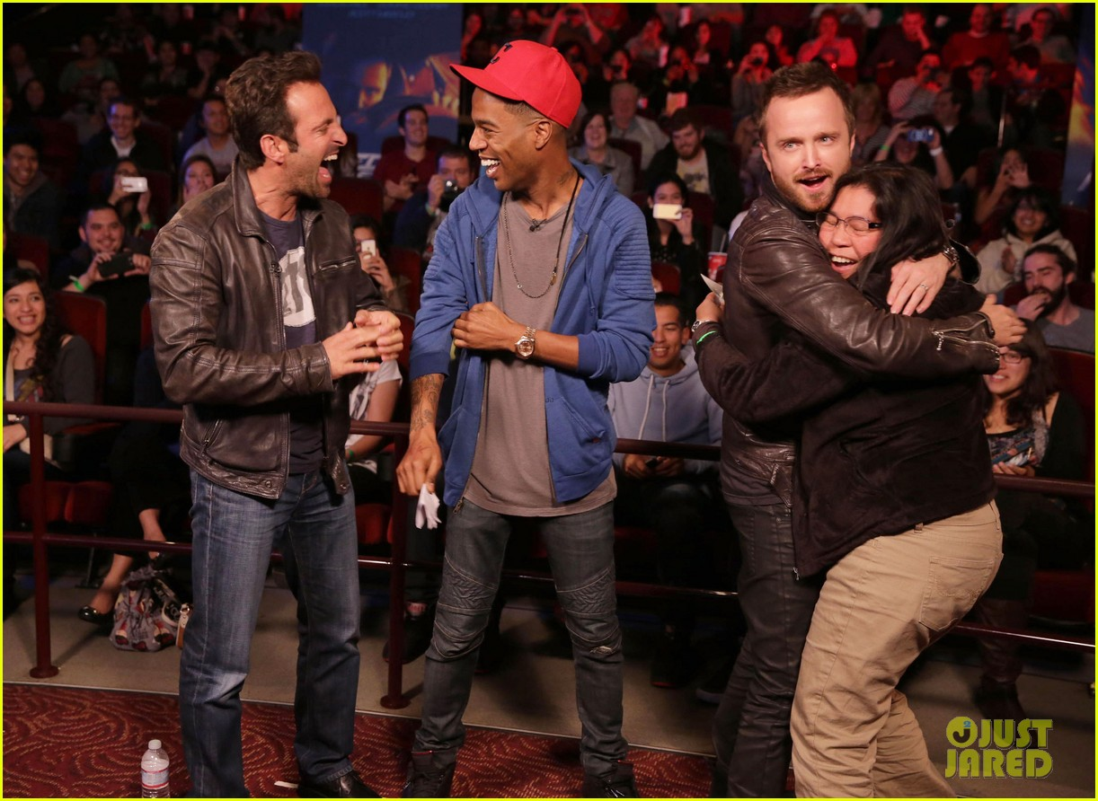 aaron paul kid cudi need for speed advance screening 053057089