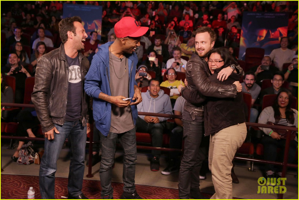 aaron paul kid cudi need for speed advance screening 063057090
