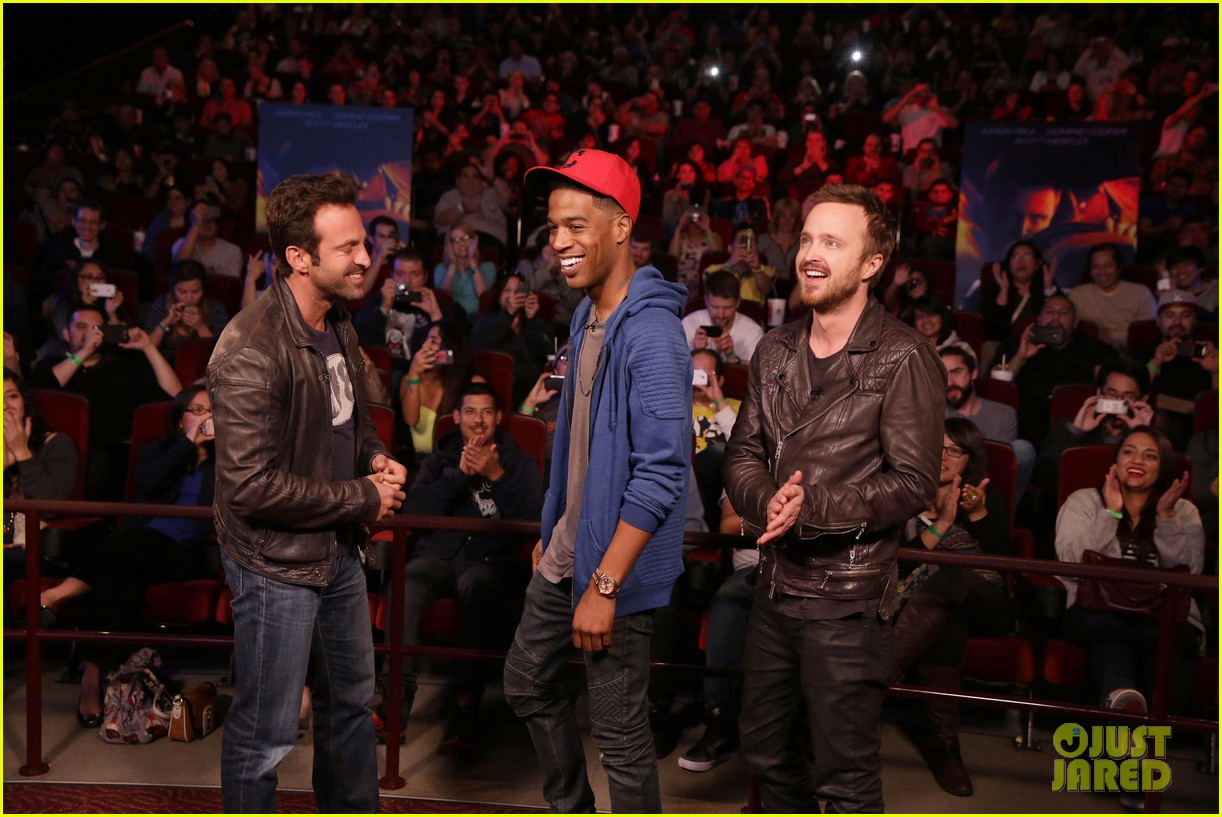 aaron paul kid cudi need for speed advance screening 123057096