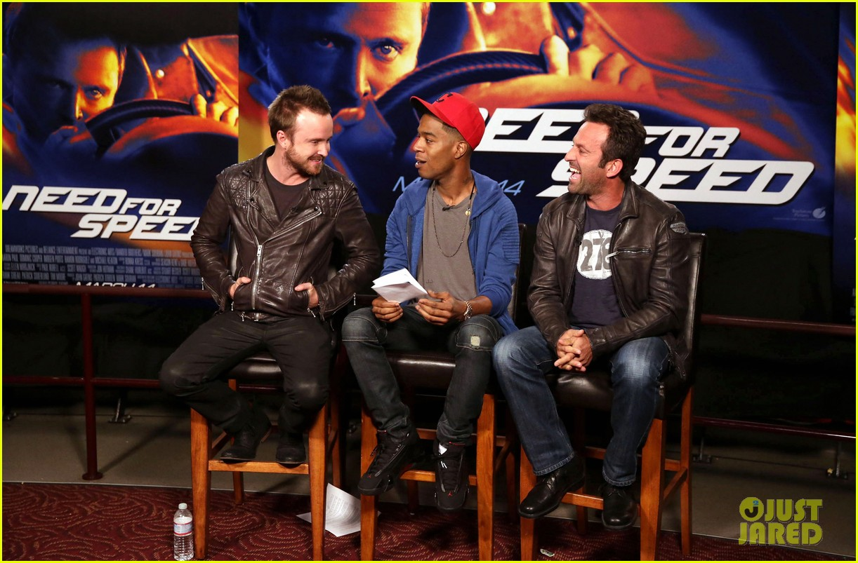 aaron paul kid cudi need for speed advance screening 133057097