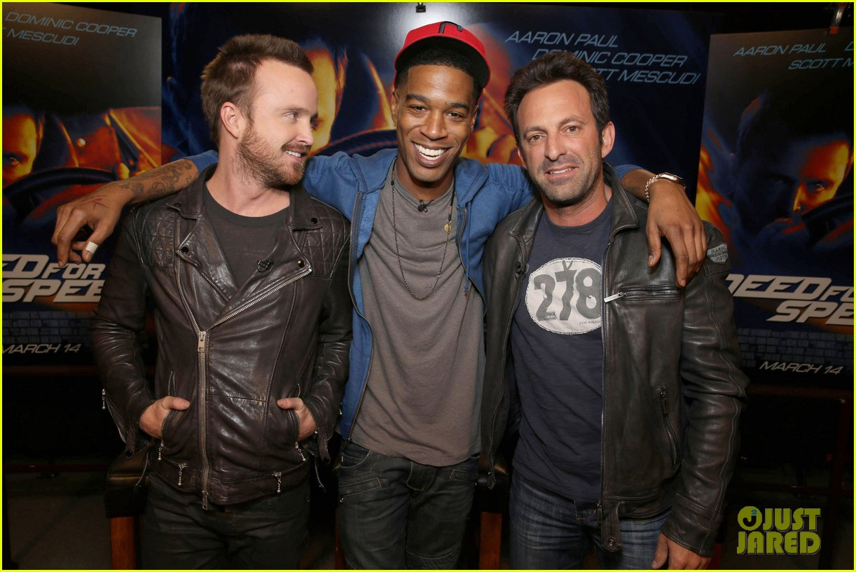 aaron paul kid cudi need for speed advance screening 15