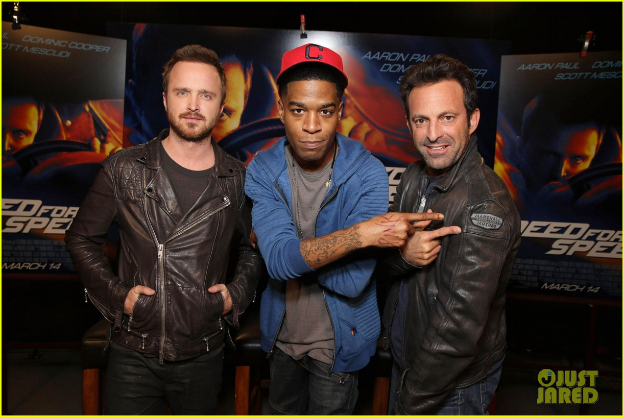 aaron paul kid cudi need for speed advance screening 16