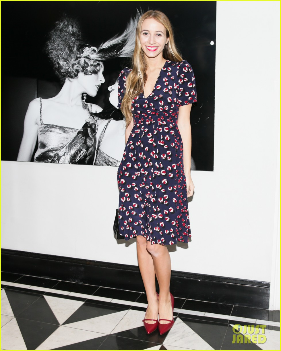 nicola peltz karlie kloss glam up for gucci vogue luncheon 033061067