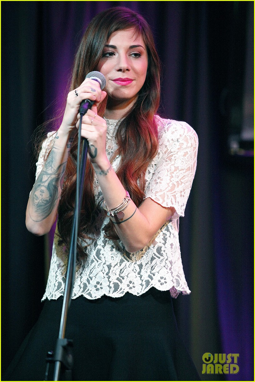 christina perri previews new album at nyc listening party 043061139