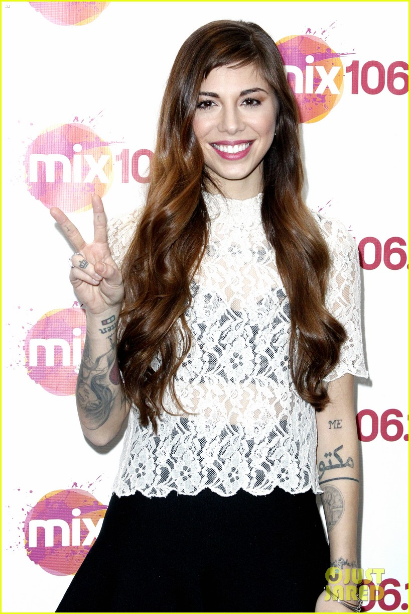 christina perri previews new album at nyc listening party 073061142