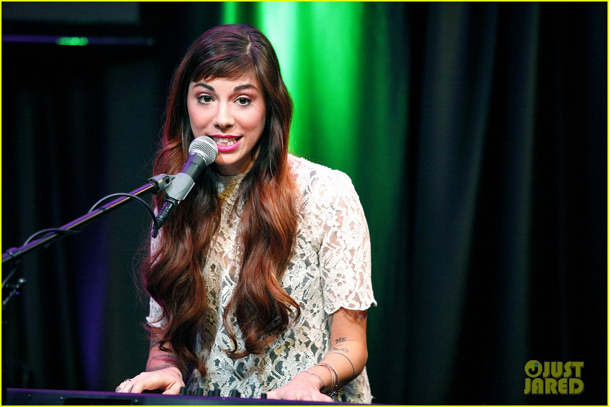 christina perri previews new album at nyc listening party 113061146