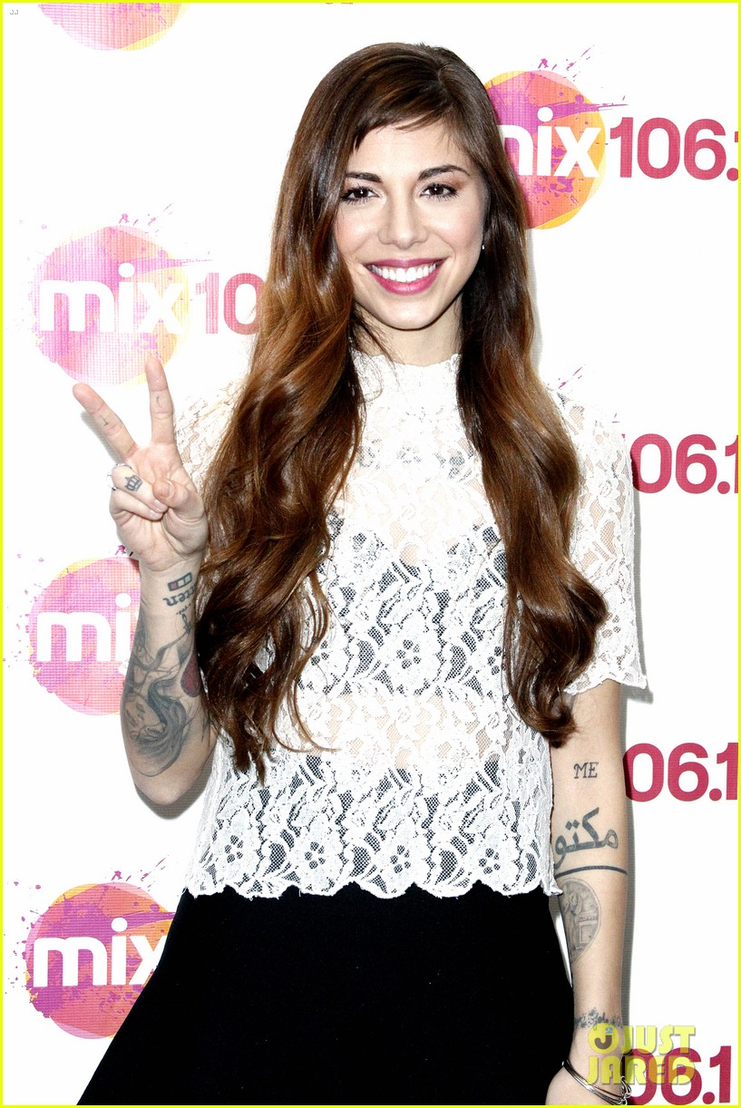 christina perri previews new album at nyc listening party 163061151
