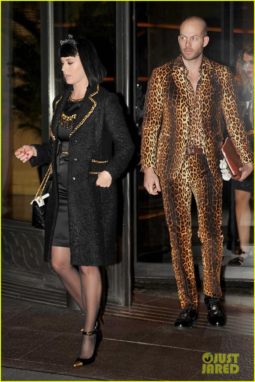 katy perry rita ora walk runway in moschino fashion show 17
