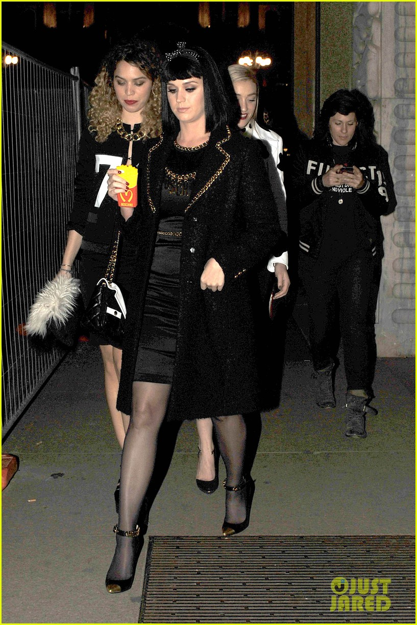 katy perry rita ora walk runway in moschino fashion show 223057403